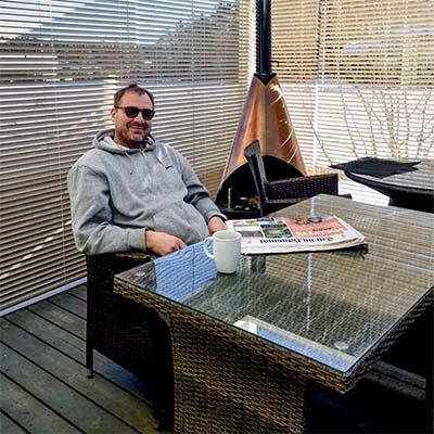 Yrittaja Juha Henriksson